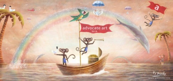 new year advocate art